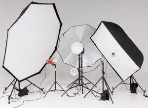 Studio Lighting Workshop Sample equipment